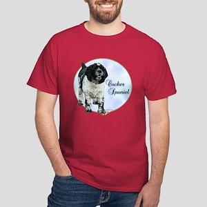 Cocker(parti) Portrait Dark T-Shirt