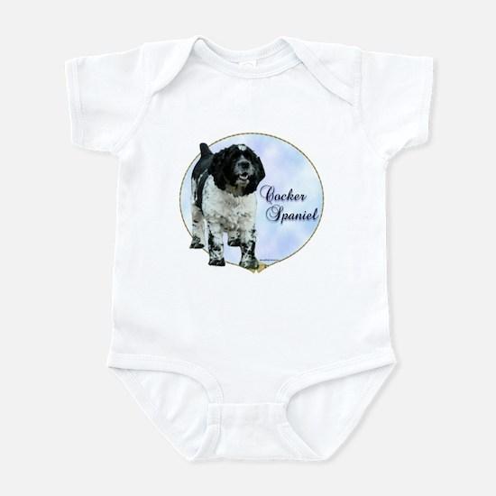 Cocker(parti) Portrait Infant Bodysuit