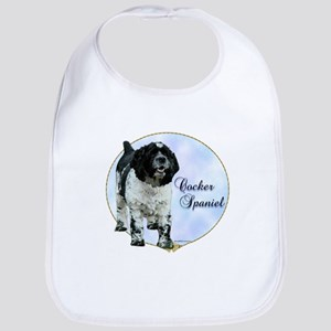 Cocker(parti) Portrait Bib