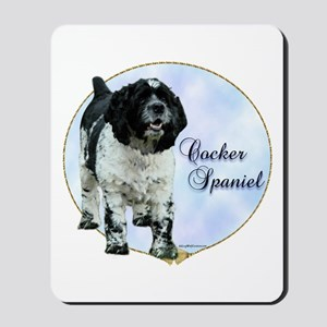 Cocker(parti) Portrait Mousepad
