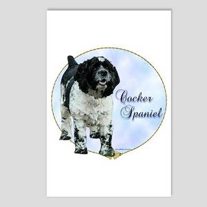 Cocker(parti) Portrait Postcards (Package of 8)