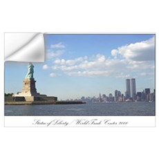 World Trade Center / Statue of Liberty : print Wall Decal