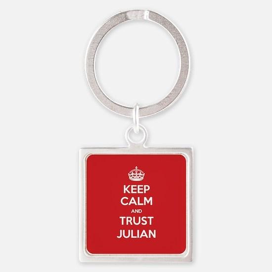 Trust Julian Keychains
