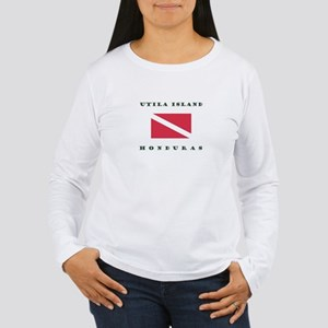 Utila Island Honduras Dive Long Sleeve T-Shirt