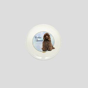 Cocker(brown) Portrait Mini Button