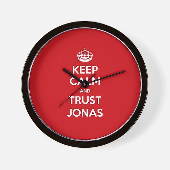 Trust Jonas Wall Clock
