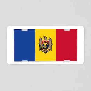 Flag of Moldova NO Txt Aluminum License Plate