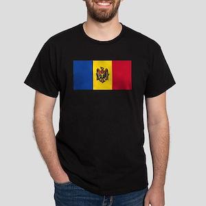 Flag of Moldova NO Txt Dark T-Shirt
