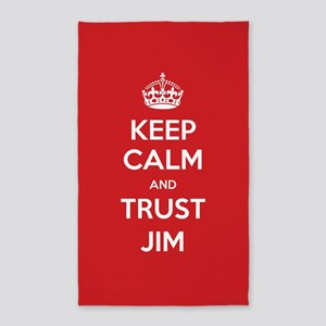 Trust Jim 3'x5' Area Rug
