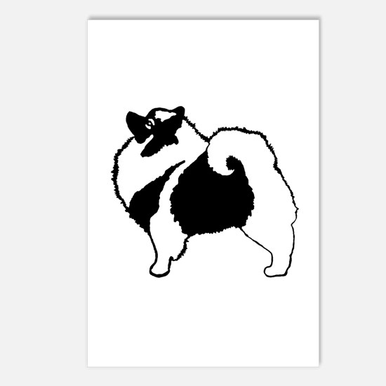Keeshond Graphics Postcards (Package of 8)