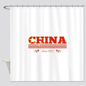 CHINA since 1912 Shower Curtain