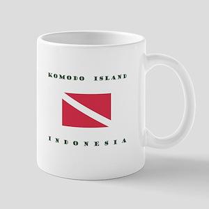 Komodo Island Indonesia Dive Mugs