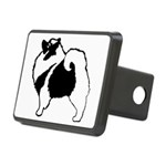 Keeshond Graphics Rectangular Hitch Cover