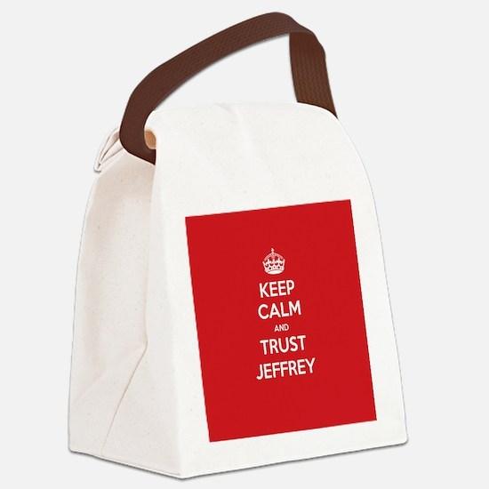 Trust Jeffrey Canvas Lunch Bag