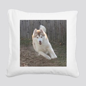 wooly Square Canvas Pillow