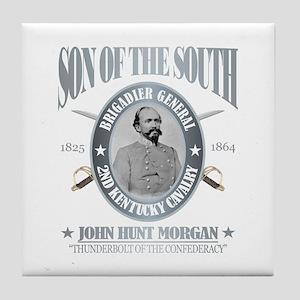 John Hunt Morgan Tile Coaster