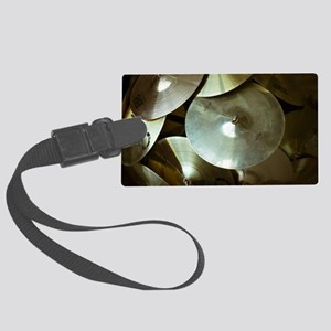 Cymbals Large Luggage Tag