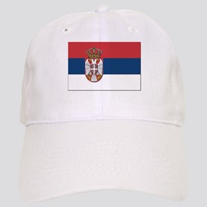 Serbian Flag Cap