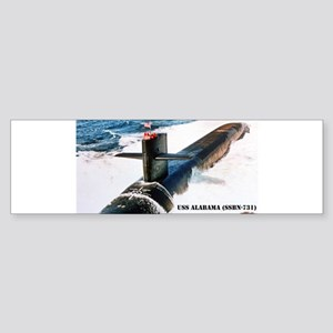 alabama sticker Bumper Sticker