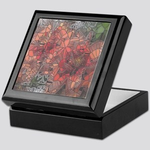 flowers such as stained glass2 Keepsake Box