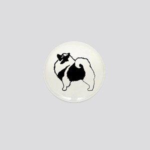 Keeshond Graphics Mini Button