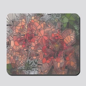 flowers such as stained glass2 Mousepad