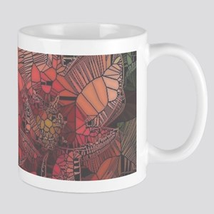 flowers such as stained glass2 Mugs