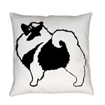 Keeshond Graphics Everyday Pillow