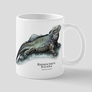 Rhinoceros Iguana Mug