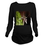 Fetid Adders Tongue Flower Long Sleeve Maternity T