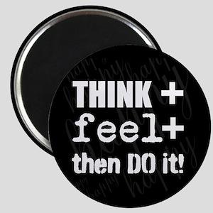 Positive Thinking Saying Magnet