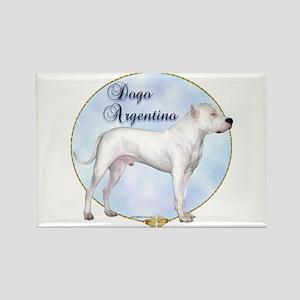 Dogo Portrait Rectangle Magnet