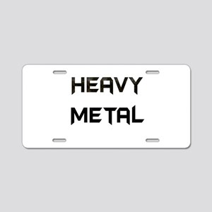 FNRockstar Aluminum License Plate