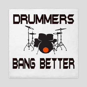 Drummers Bang Queen Duvet