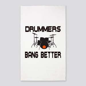 Drummers Bang 3'x5' Area Rug