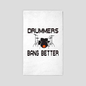 Drummers Bang 3'x5' Area Rug