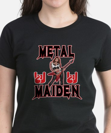Metal Maiden 2 Women's Dark T-Shirt