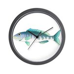 Green Jobfish Grey Snapper Uku Wall Clock