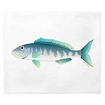 Green Jobfish Grey Snapper Uku King Duvet