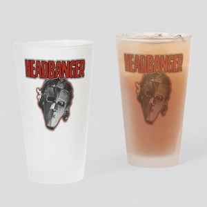 HeadBanger Drinking Glass