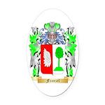 Franzel Oval Car Magnet