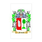 Franzel Sticker (Rectangle)