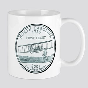 North Carolina State Quarter Mug