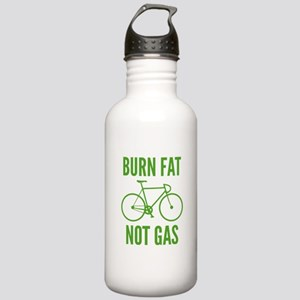 Burn Fat Not Gas Stainless Water Bottle 1.0L