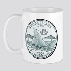 Rhode Island State Quarter Mug