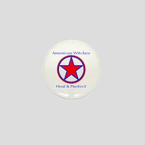 American Witches Mini Button