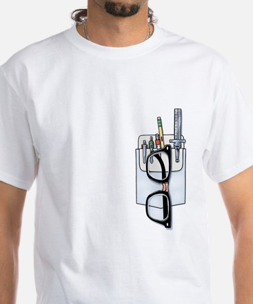 Pocket Kit White T-Shirt