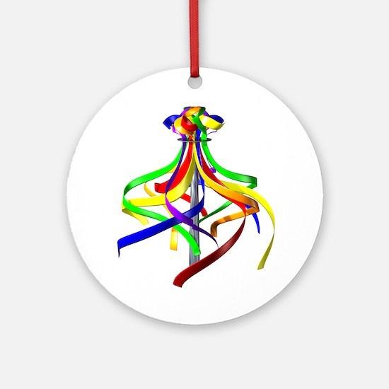 Maypole Ornament (Round)