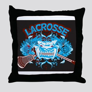 Lacrosse Diabolic Deuce 20XX Throw Pillow