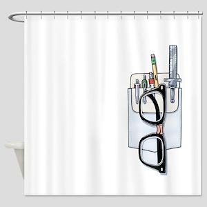 Pocket Kit Shower Curtain